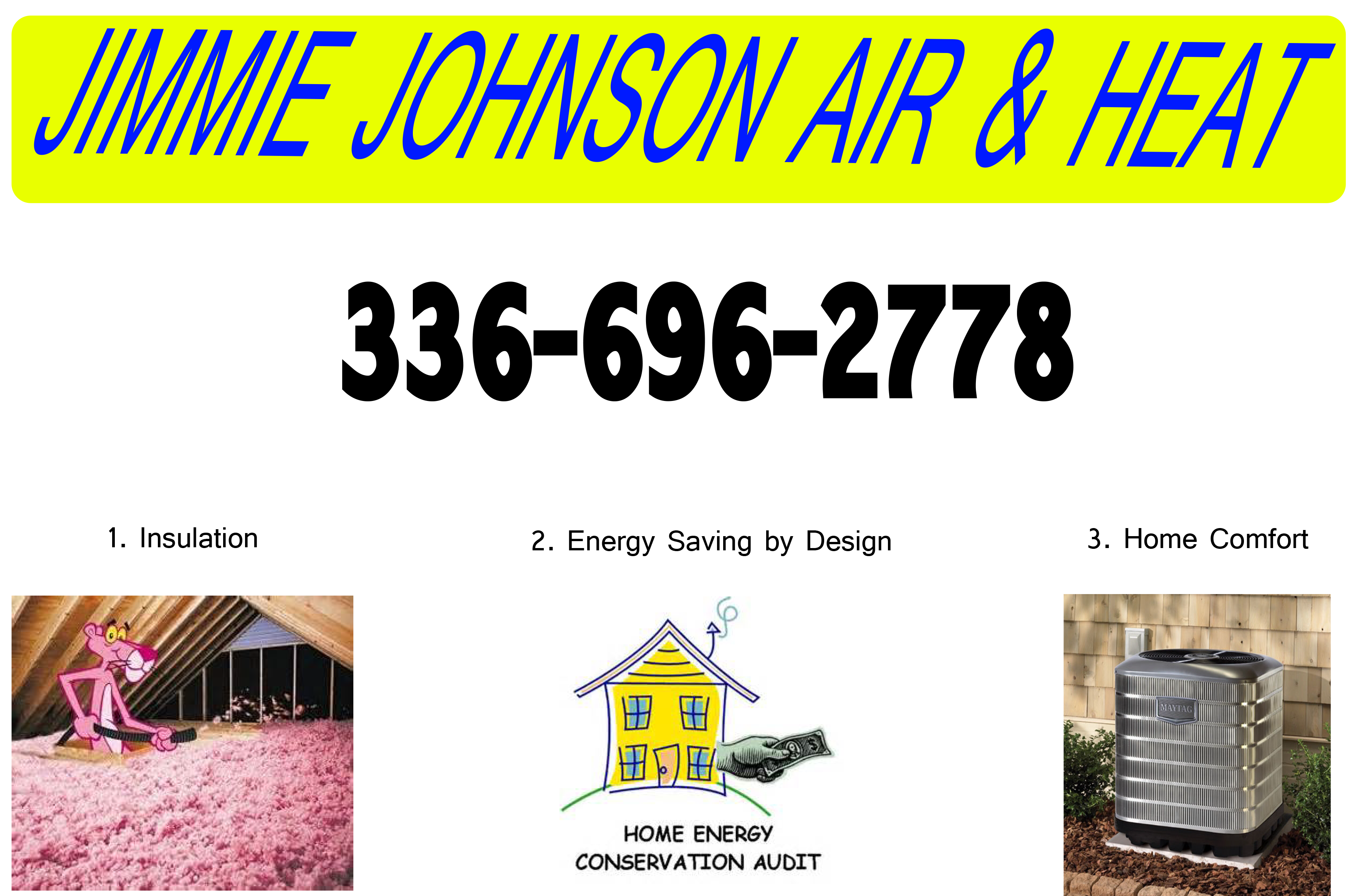 Jimmie Johnson Air and Heat of Wilkesboro NC has all of