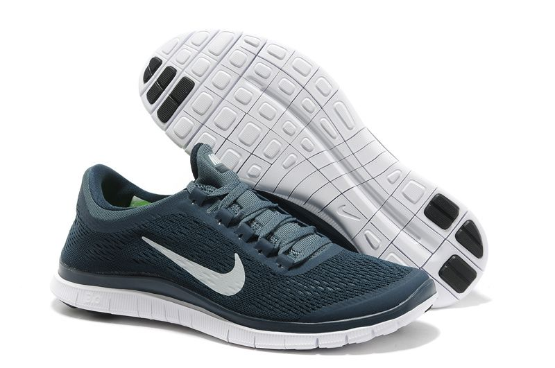 hot sale online ef018 6a67b Nike Free 3.0 V5 Armory Navy White Armory Slate Mens Running Shoes
