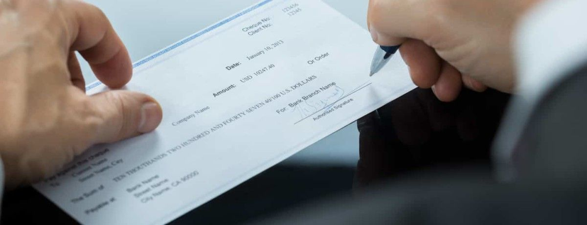 How to cancel a check with a stop payment request