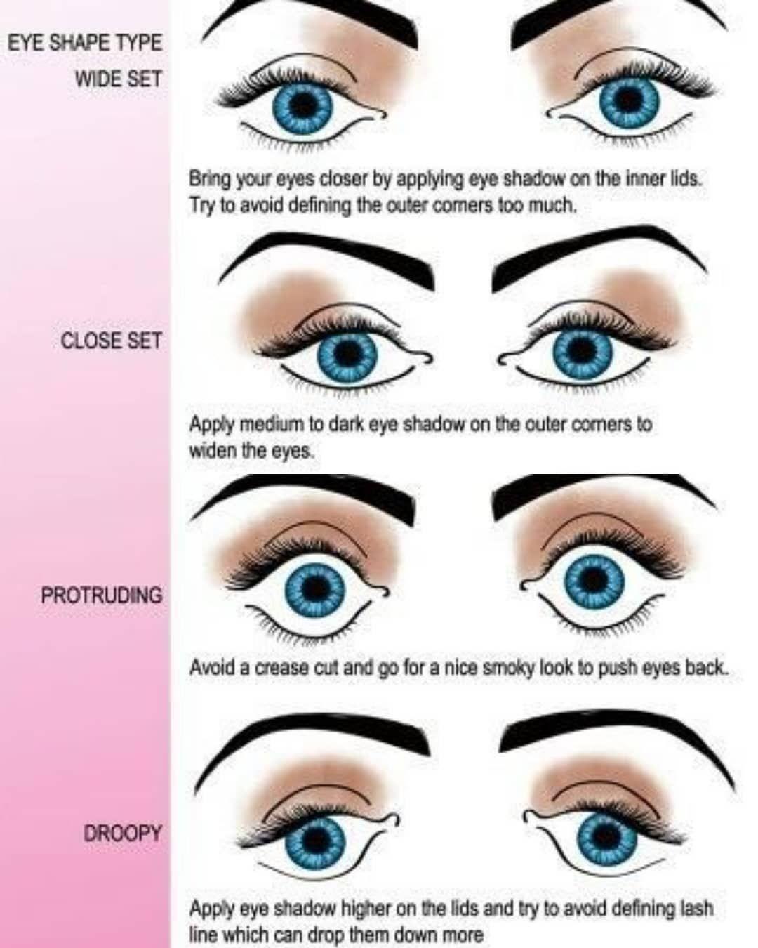Eye shape shadow tips! Makeup tips  Makeup tips, Silver eye