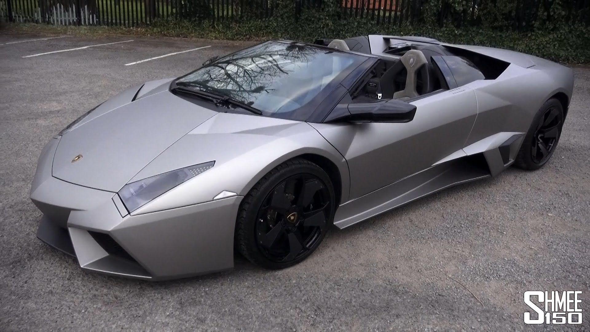 Lamborghini Reventon Roadster Walkaround And Sound Automobiles