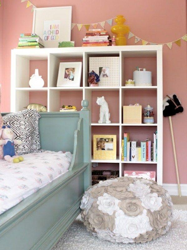 Rosa Mädchen Kinderzimmer Ideen Leseecke