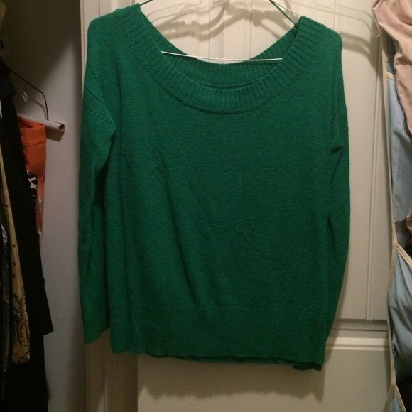 AE Sweater Green, gently worn, xl American Eagle Outfitters Sweaters Crew & Scoop Necks