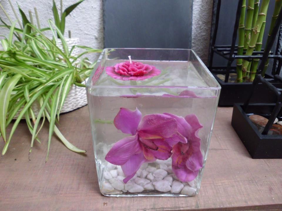 jarrn cuadrado de cristal