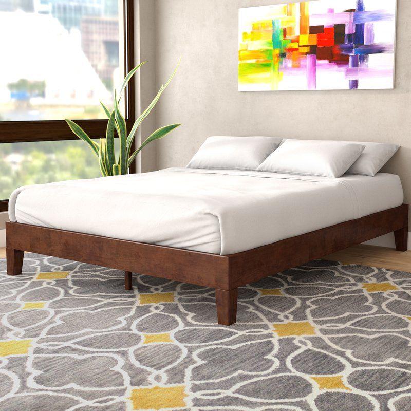 Hidalgo Solid Wood Platform Bed Wood Platform Bed Solid Wood