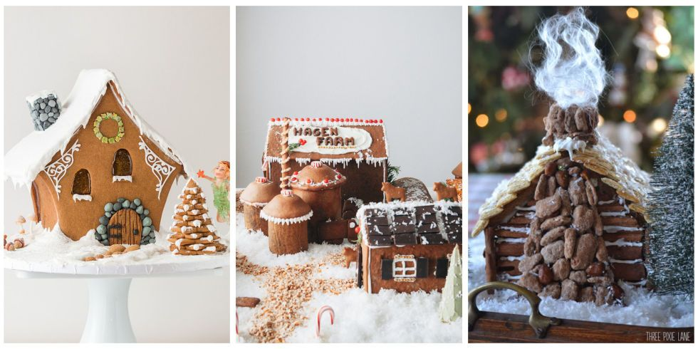 50 Cutest Gingerbread Houses to Make Over the Holidays