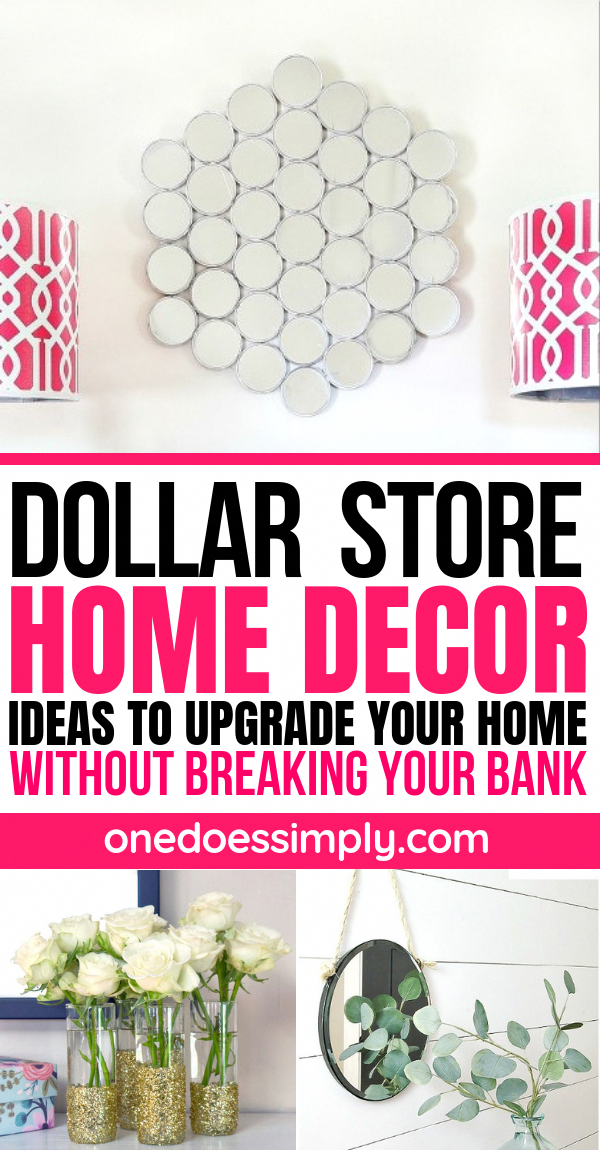 Dollar store home decor ideas to upgrade your home without breaking your bank | home decorating ideas dollar store | home decorating ideas for cheap | home decorating ideas DIY | | decorating ideas awrsome #homedecor #decor #decoratingideas #diyhomedecor #diyideas #diycrafts #diyprojects #diy #homedecorideas #LivingRoomDecorInspiration