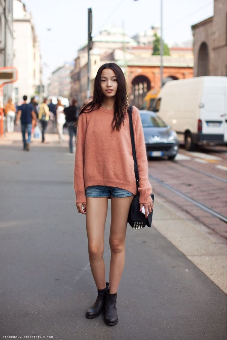 xiao wen ju       Chinese model