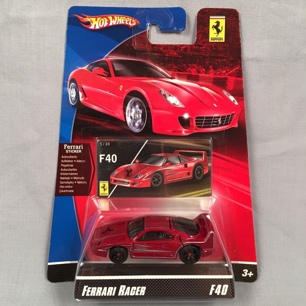 Mattel Hot Wheels Ferrari Racer 365 GTB MOC 2007