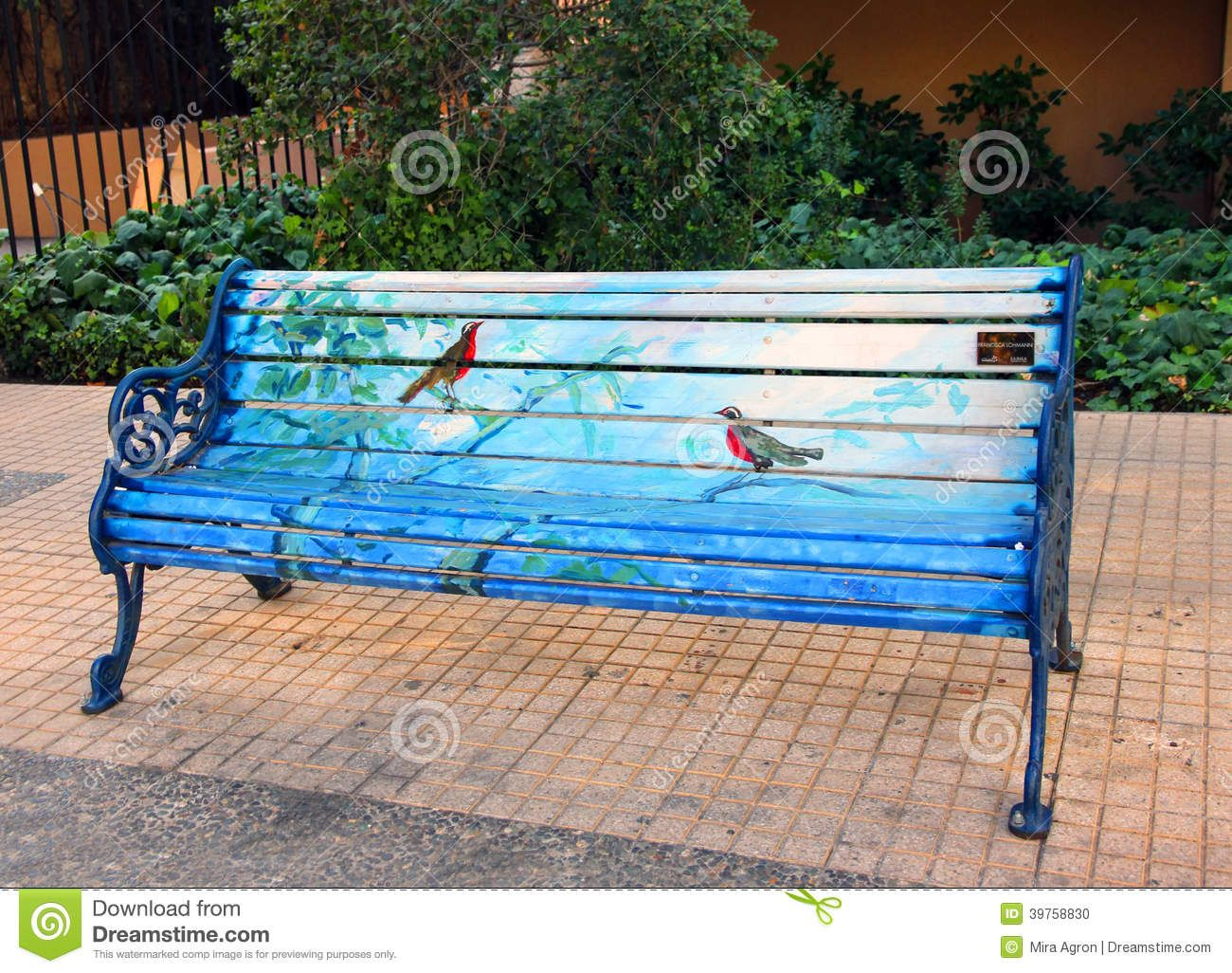 Good Painted Bench Ideas Part - 11: Painted Bench Editorial Photography Image: Rainbow Painted Bench Stock  Photo, Royalty Free Image: Art Takes A Seat Downtown Iowa Now, Painted Bench  ...