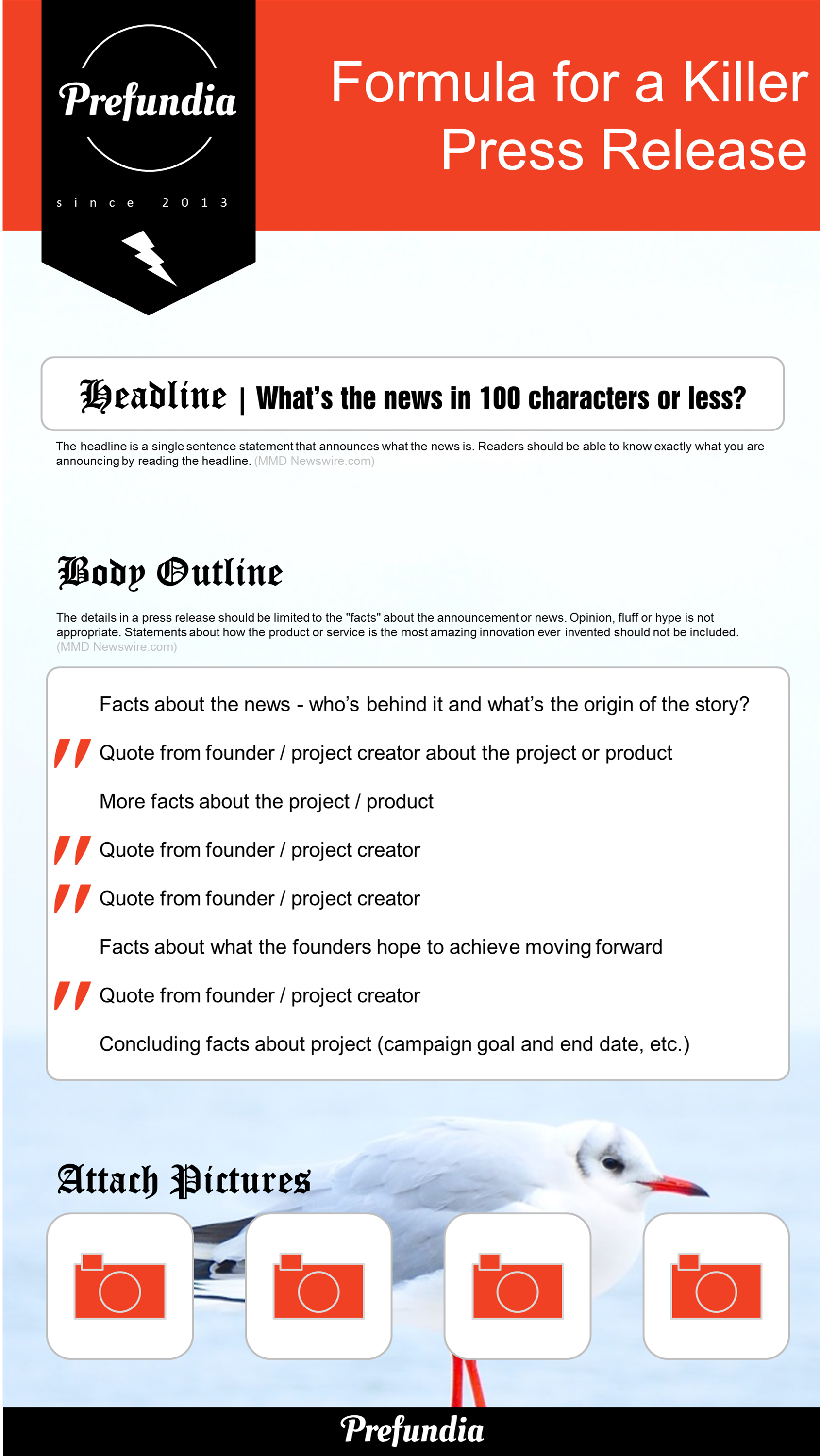 104 Ideas for Press Releases Infographic. #pressrelease #strategy ...