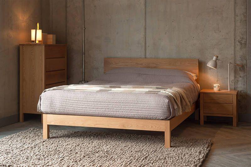 Malabar Contemporary Wooden Bed Oak Bedroom Furniture Oak Bedroom Oak Beds