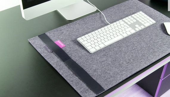 Feltro Deskpad Organizer per il vostro studio o di OriginalClub