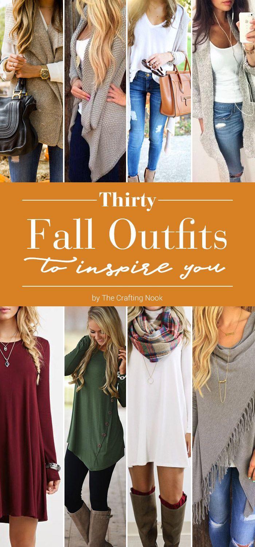 9e0e08888a0 30 Fall Outfits to Inspire You