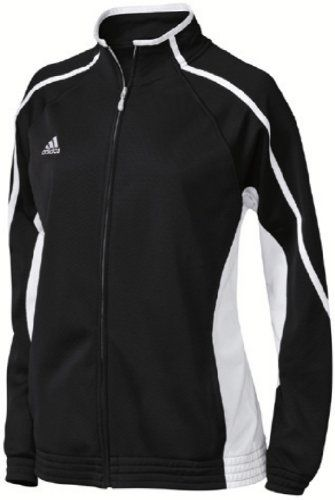 00322bbaf adidas Women's Pro Team Jacket - Elastic cuffs and waistband. Wearable on  court and off. 3-Stripes. - Track & Active Jackets - Apparel -