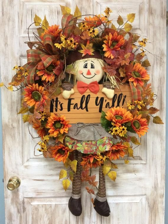 Fall Scarecrow Wreath, Fall Door decor, Front Door Fall Wreath, Wreath for Fall, Fall Decoration, Wr #scarecrowwreath Fall Scarecrow Wreath, Fall Door decor, Front Door Fall Wreath, Wreath for Fall, Fall Decoration, Wr #scarecrowwreath