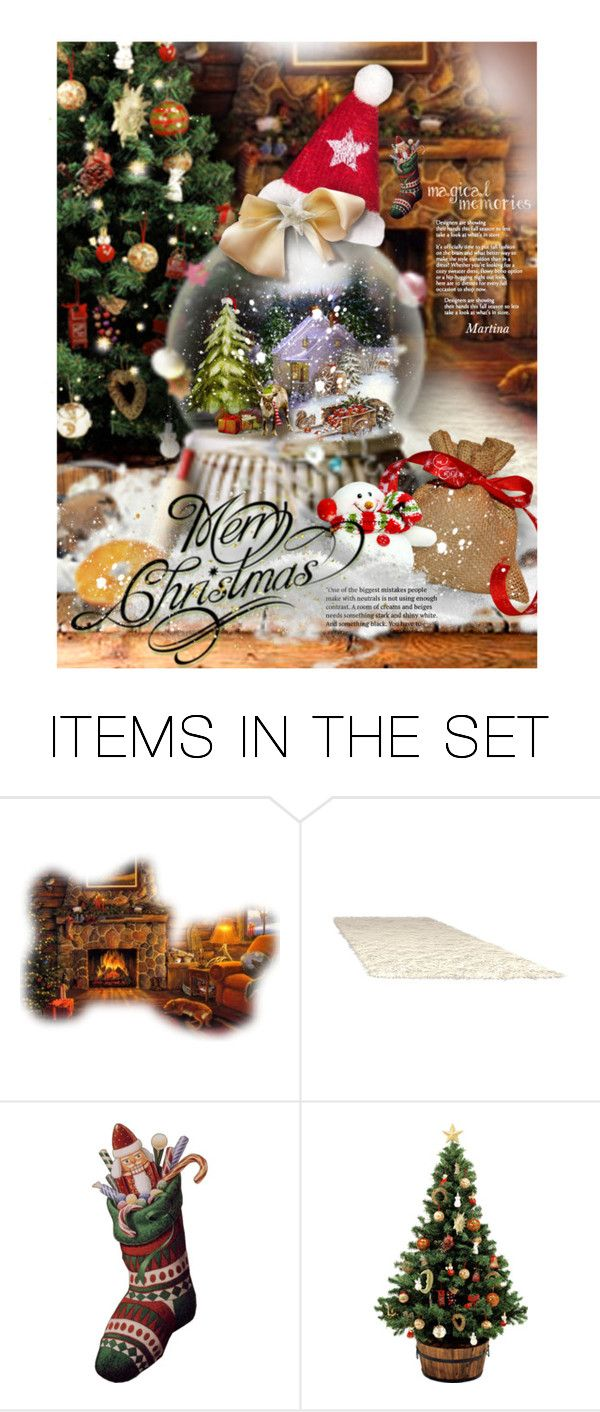 Magic christmas polyvore and romwe