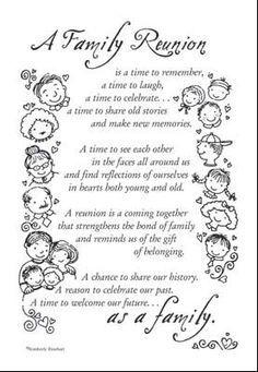 family reunion prayer poem Google Search