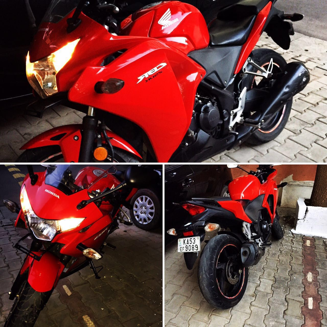 hello check this one out honda hondacbr Red 2014 from