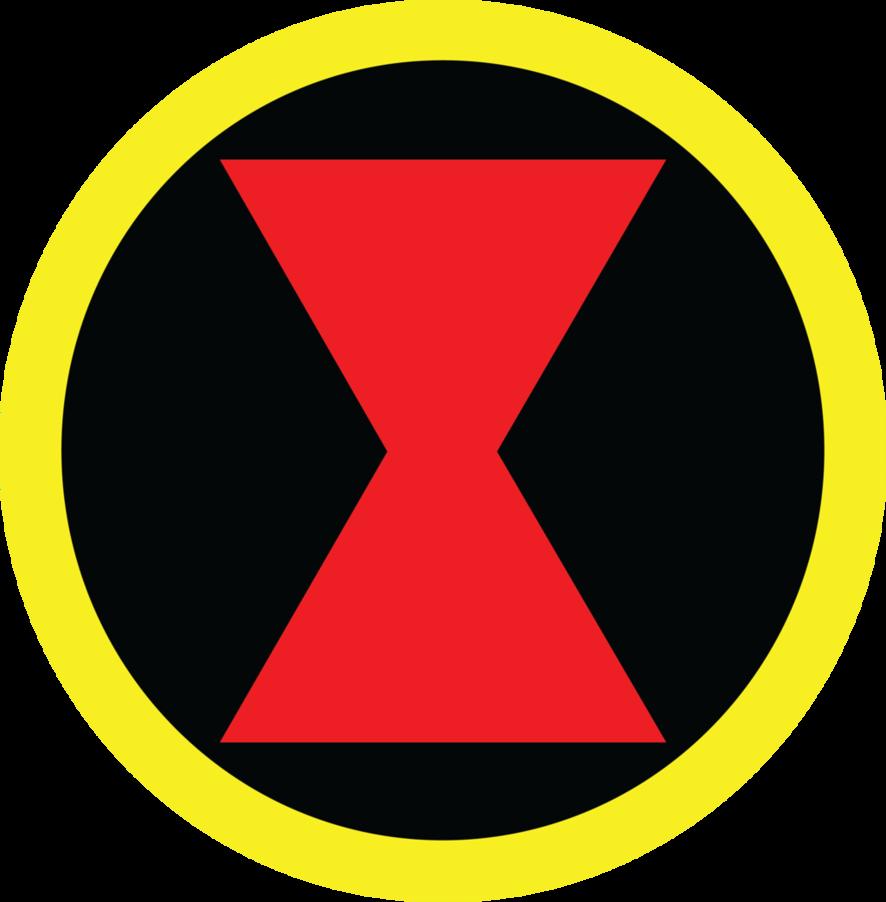 Black Widow Symbol | PARTY - Super Heroes | Pinterest ...