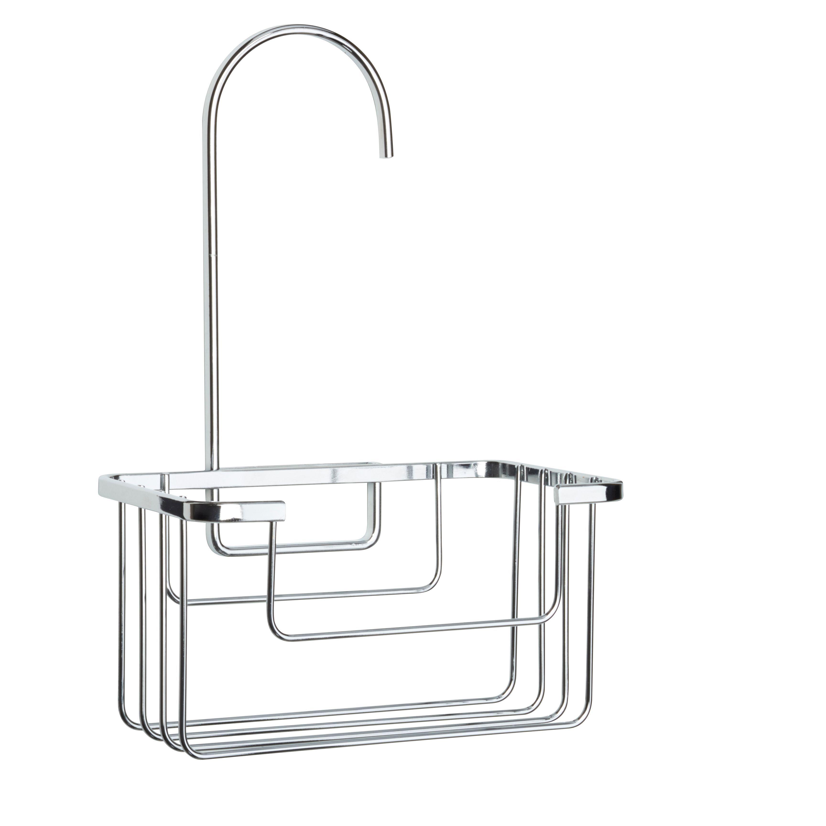 Croydex Chrome effect Mild steel Hook over basket   Pinterest ...