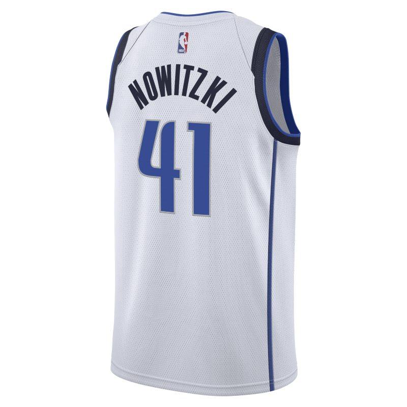b1b79df2b31 Dirk Nowitzki Association Edition Swingman Jersey (Dallas Mavericks) Men s  Nike NBA Connected Jersey - White