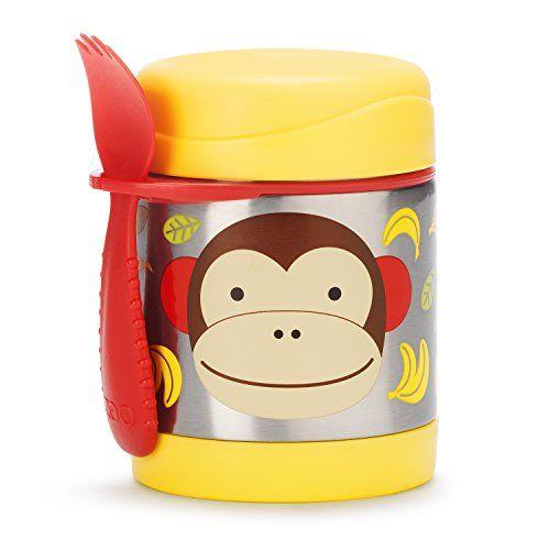 Skip Hop Zoo Insulated Food Jar, Monkey Skip Hop http