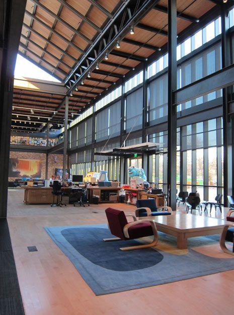 Creative Spaces: Oficinas de Pixar