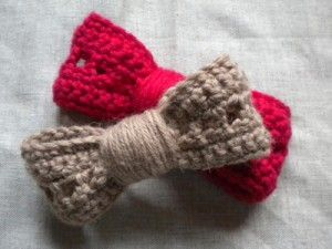pas mal Vente chaude 2019 grandes variétés Tuto crochet : un noeud pour cheveux | Craft Ideas | Tuto ...