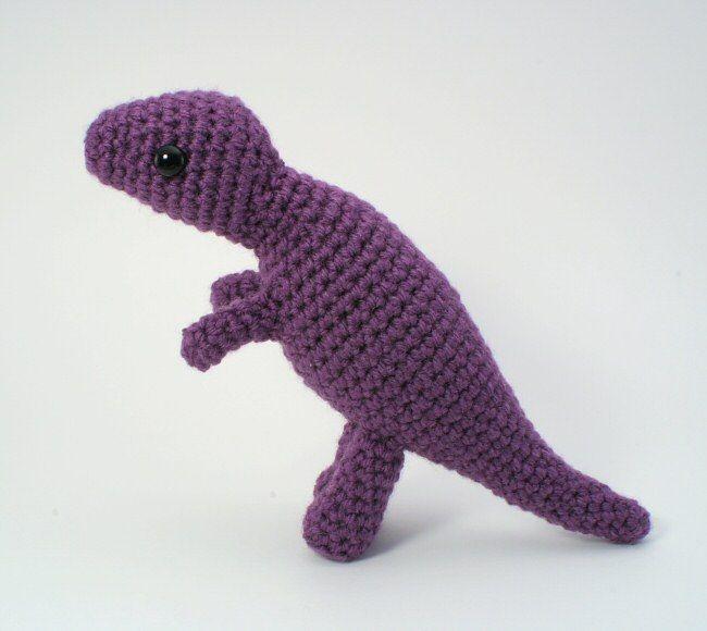 Tyrannosaurus Rex - amigurumi dinosaur crochet pattern | Mono ...