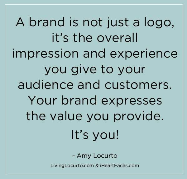 Your Brand Is So Much More Than Just A Logo Quote Quote Brand Branding Marketing Quotes About Photography Photography Branding Photography Business