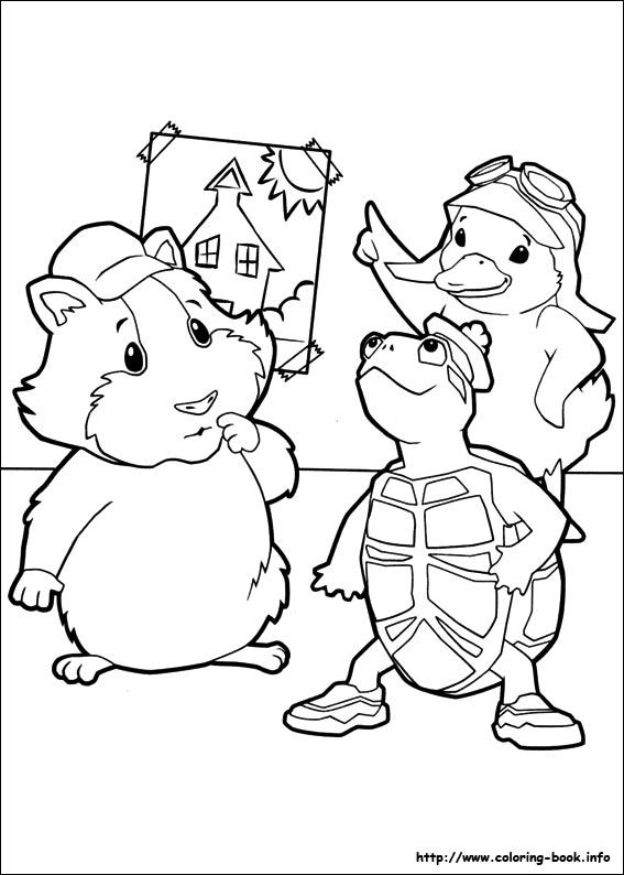 Wonder Pets Coloring Page Google Search Wonder Pets Animal
