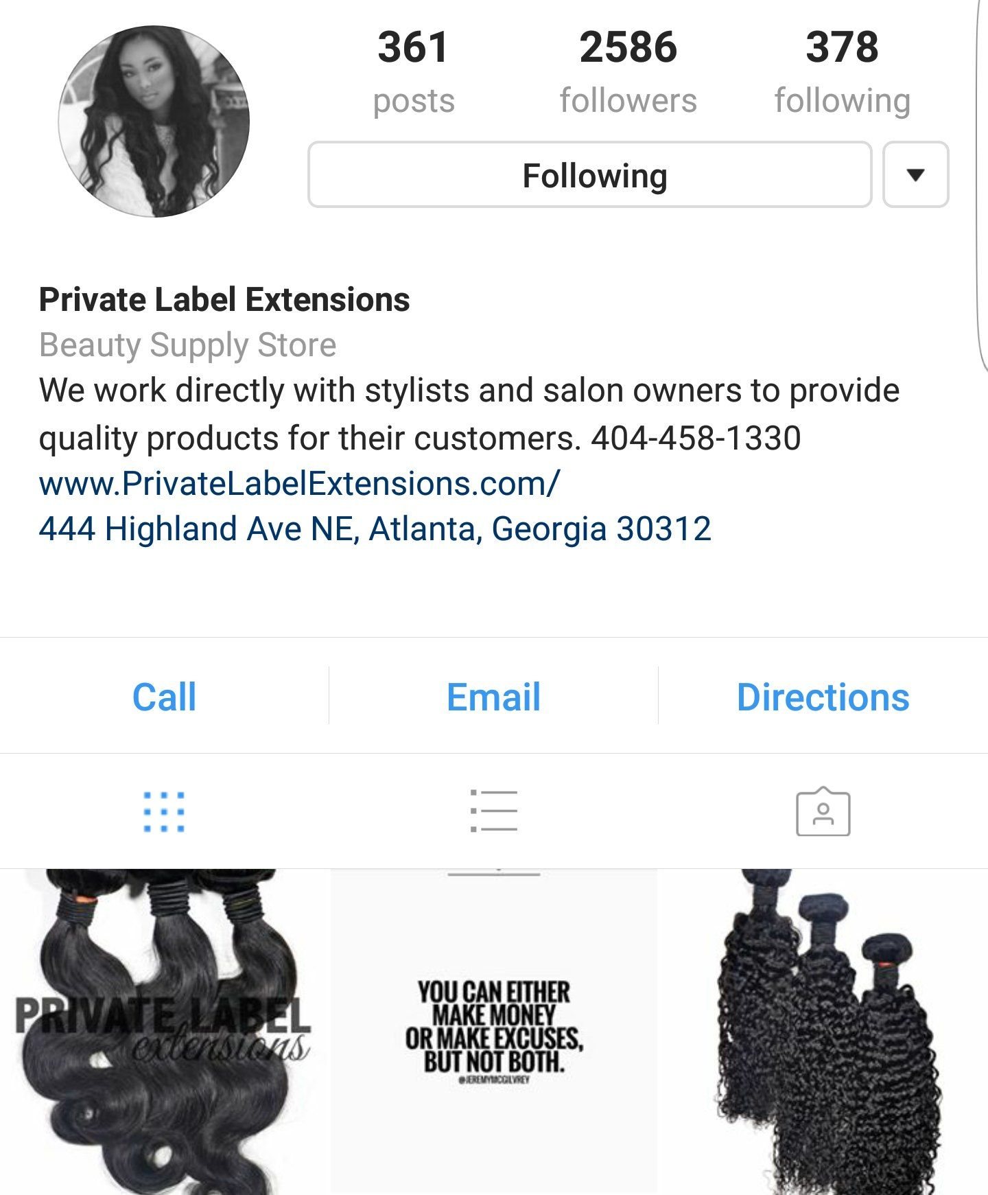 private label extensions