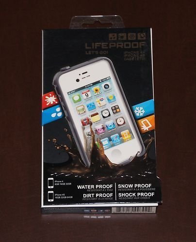 promo code 86d7a 4736d Lifeproof waterproof for iphone 4s 4 case White | Iphone Case ...
