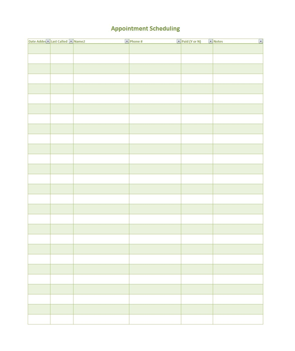 Free Printable Appointment Scheduler Dalep Midnightpig Co Pertaining To Appointment Sheet Template In 2020 Schedule Templates Calendar Template Appointment Calendar