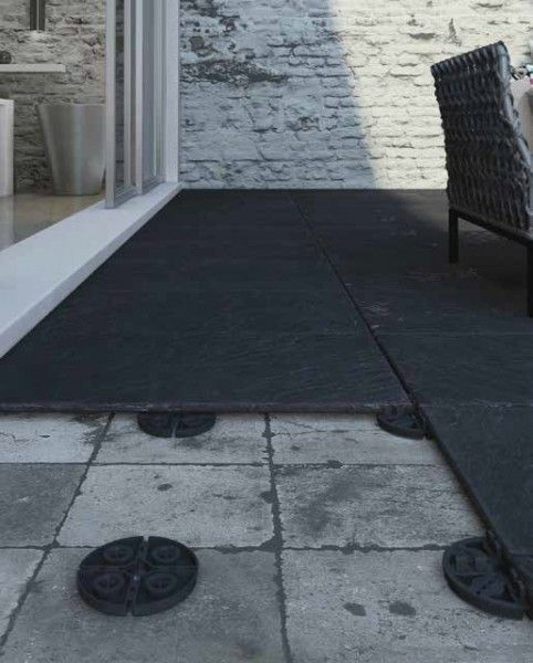 Pedestal Fixed For Terrace Tiles Joint Width 3mm Frost Resistant