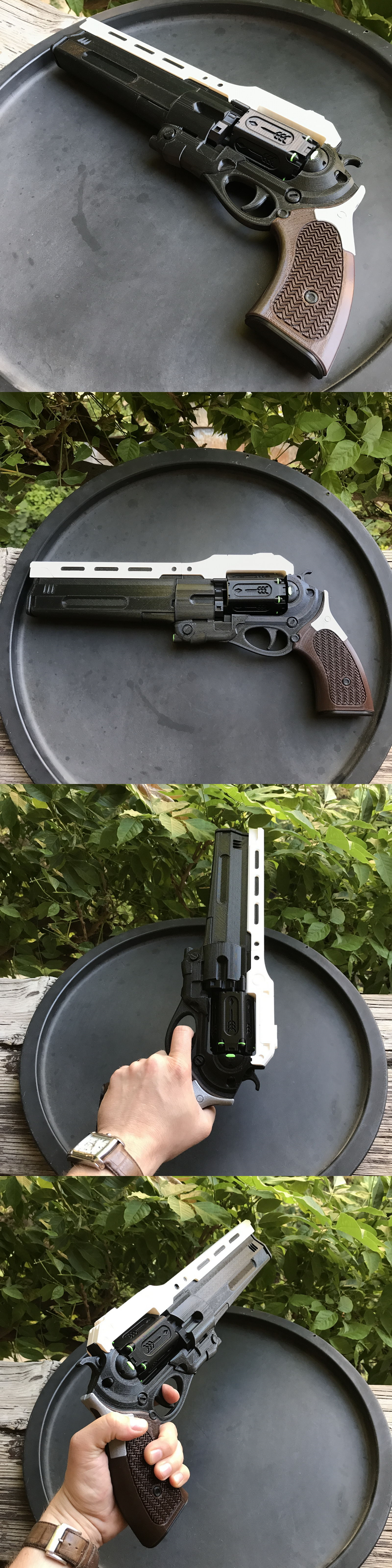 3D Printed Destiny The First Curse Hand Cannon