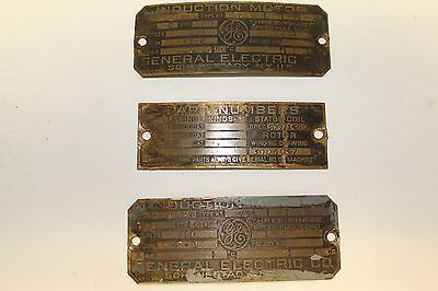 Details About Vintage Ge General Electric Heavy Brass