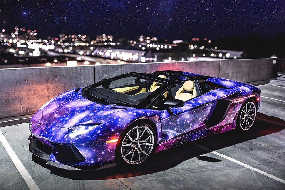 Nicht von dieser Welt: Lamborghini Aventador Roadster im Galaxy-Design