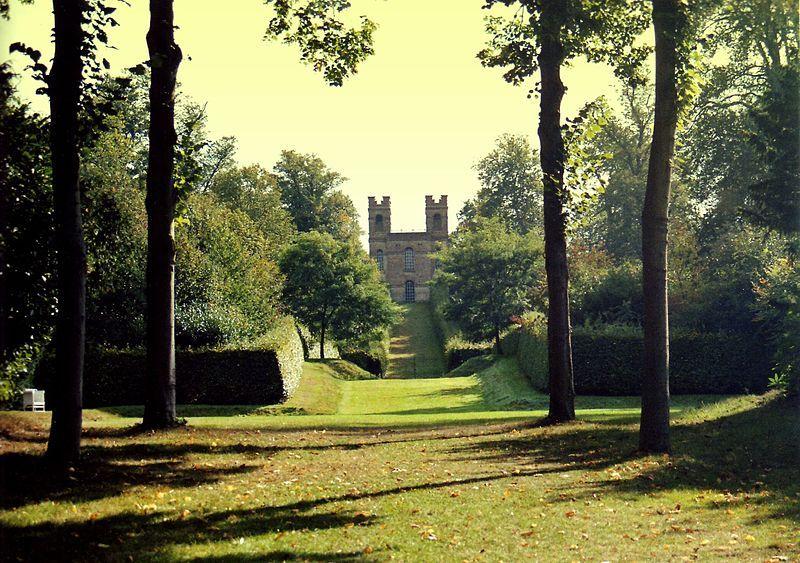 English landscape garden. English landscape garden