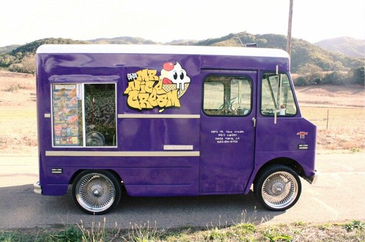 Midget Ice Cream Truck Step Van Ice Cream Van Classic Trucks