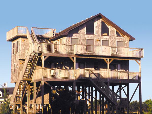 Sand Flea, 4 bedroom Ocean View home in Avon, OBX, NC