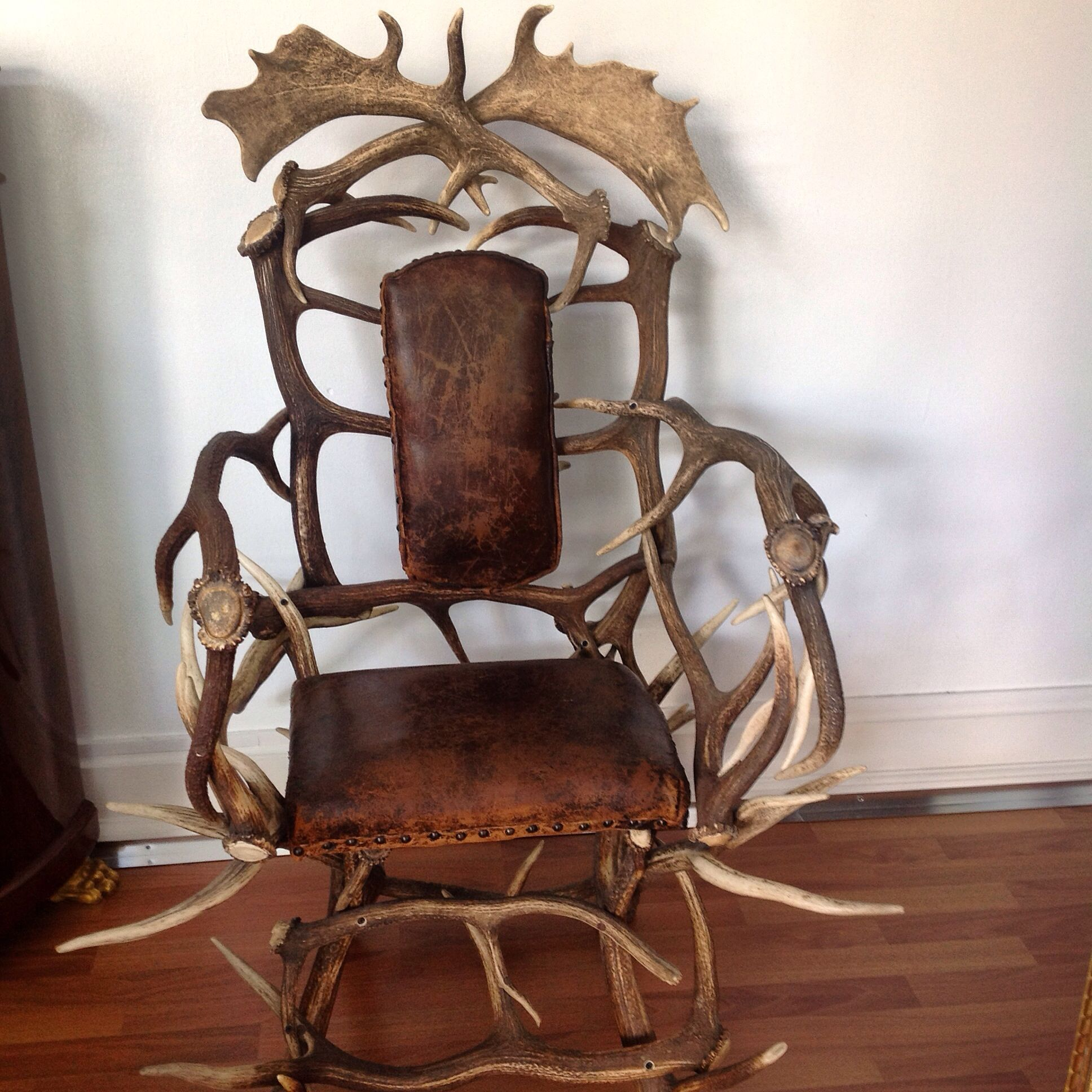 German traditional deer armchair #vintagedesign #brocante #home