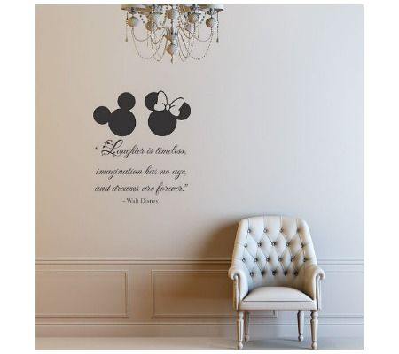 Darling Disney Wall Vinyl Quotes For The Nursery Or Playroom - Baby nursery wall decals sayings