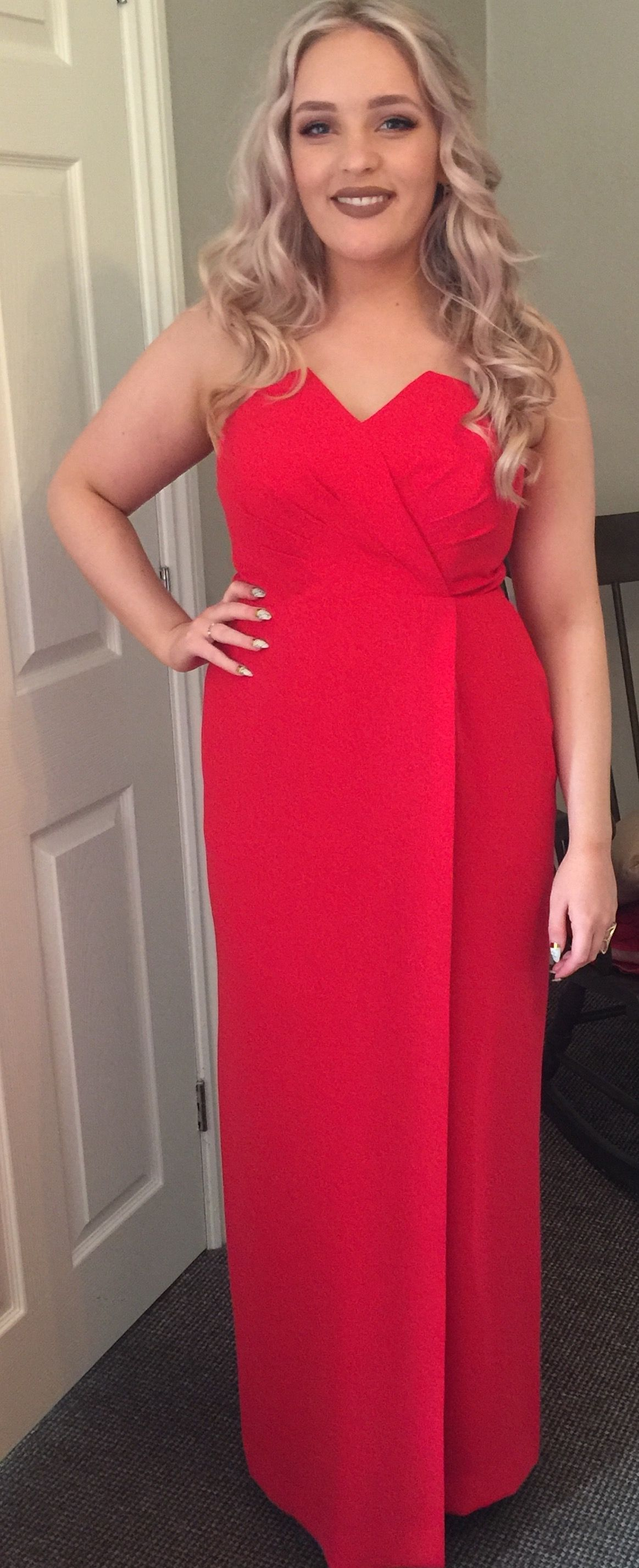 Our Grand-Daughter Louise all ready  to attend the theatre Ball