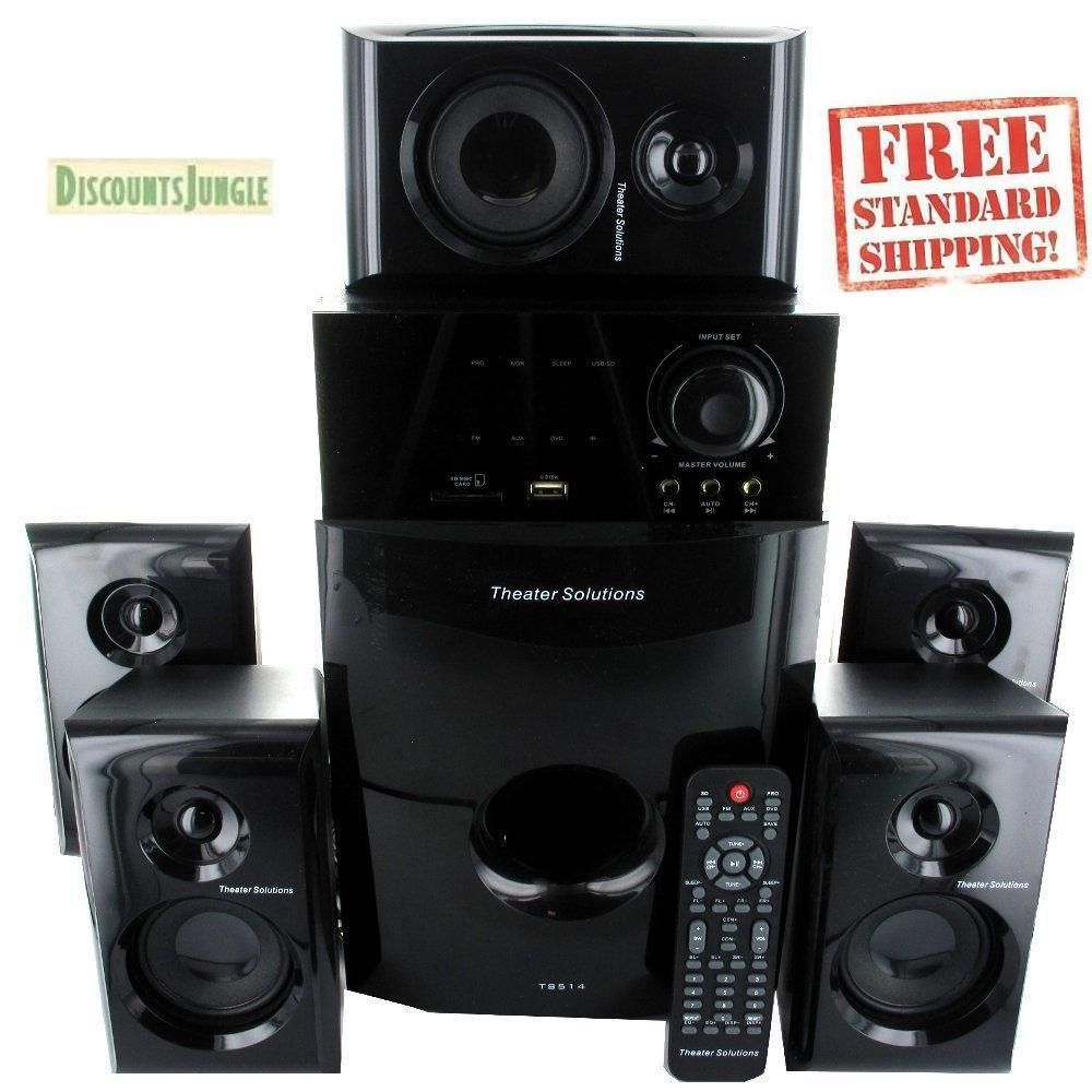 Brand New Theater Solutions Ts514 5 1 Surround Sound Home
