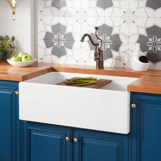 30 Reinhard Fireclay Farmhouse Sink White In 2019 For The