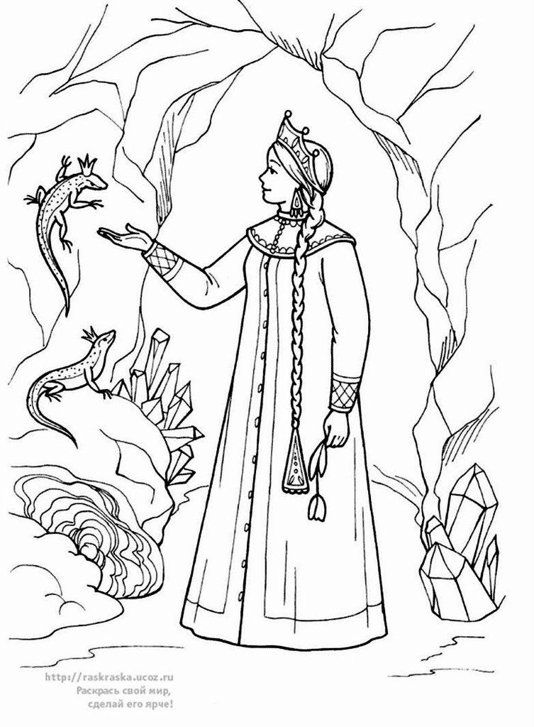раскраски русские народные сказки раскраски детские