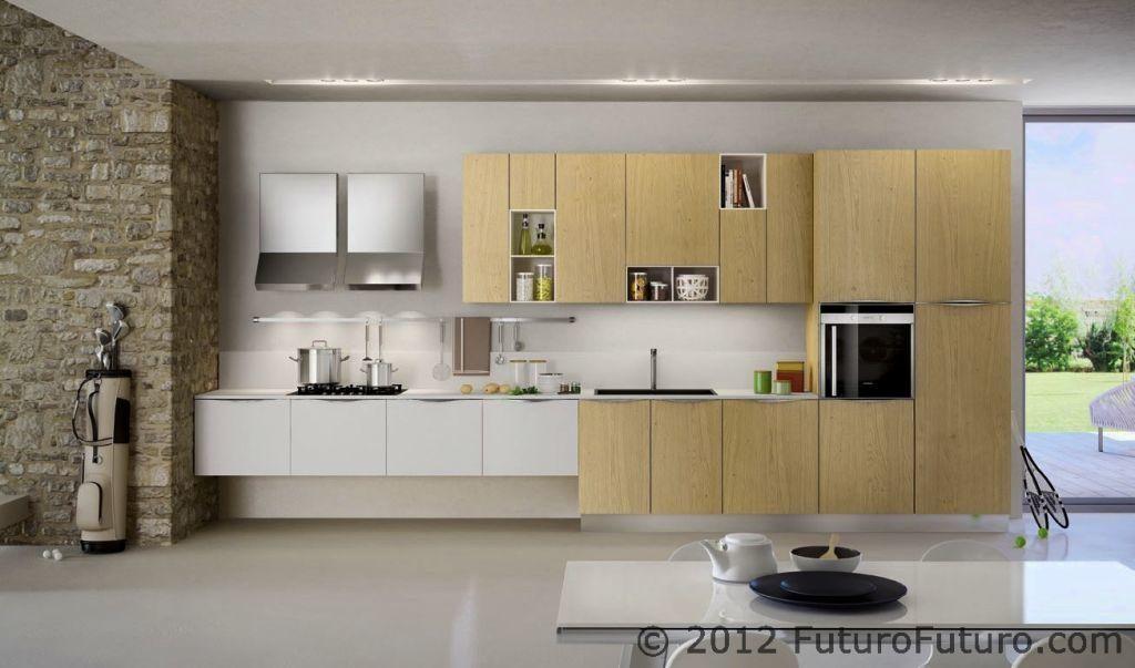 Wall Cabinet Height Modern Kitchen Set Italian Kitchen Design