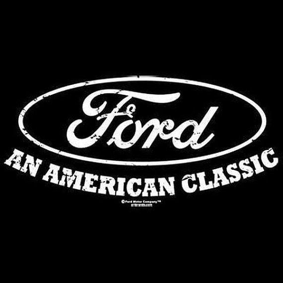 American Classic Ford Oval Car T Shirt Mens T Shirt 17500E2